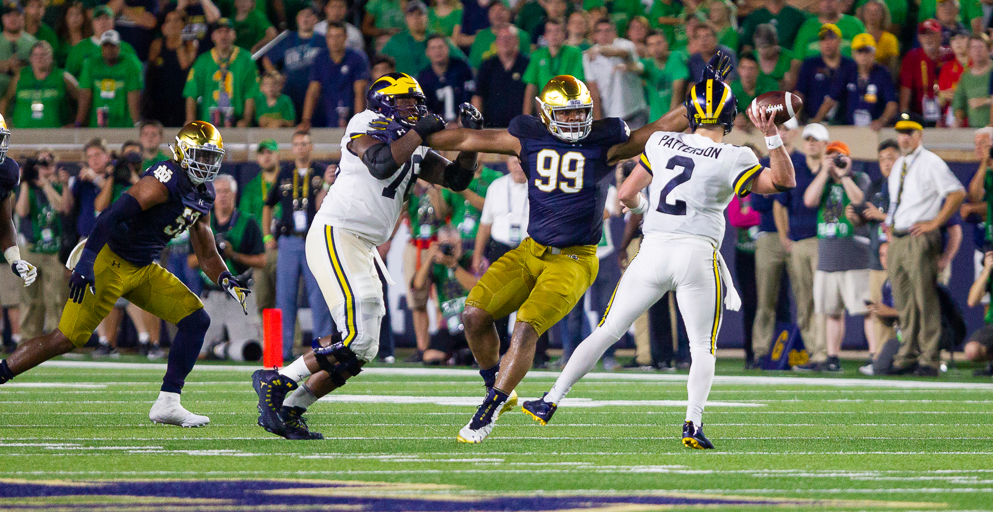 ND Football: Welcome To The NFL Jerry Tillery!