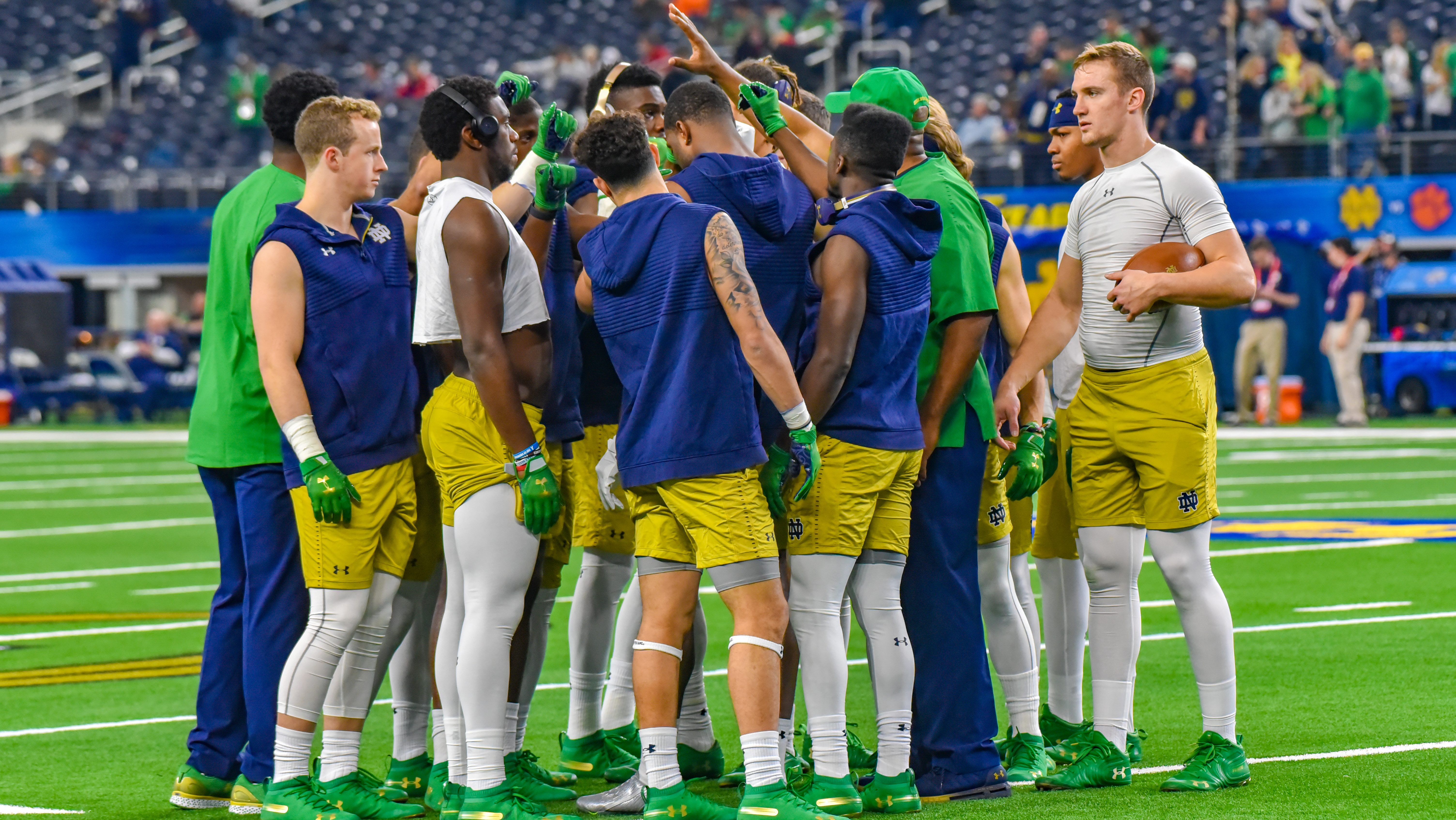 ND Football: Championship Through Team Chemistry