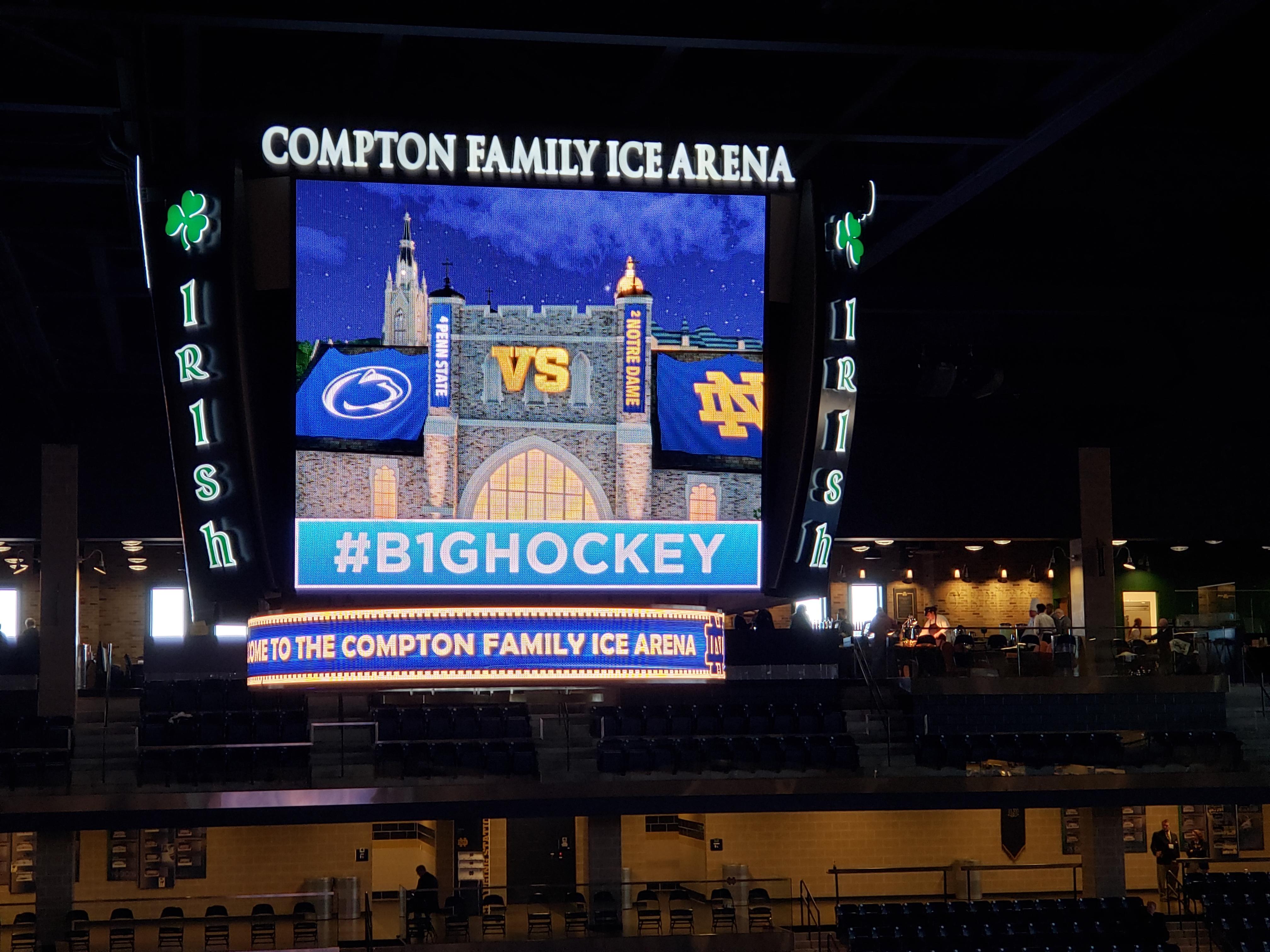 ND Hockey: Scoring Extravaganza In The Regular Season Series Finale Against PSU