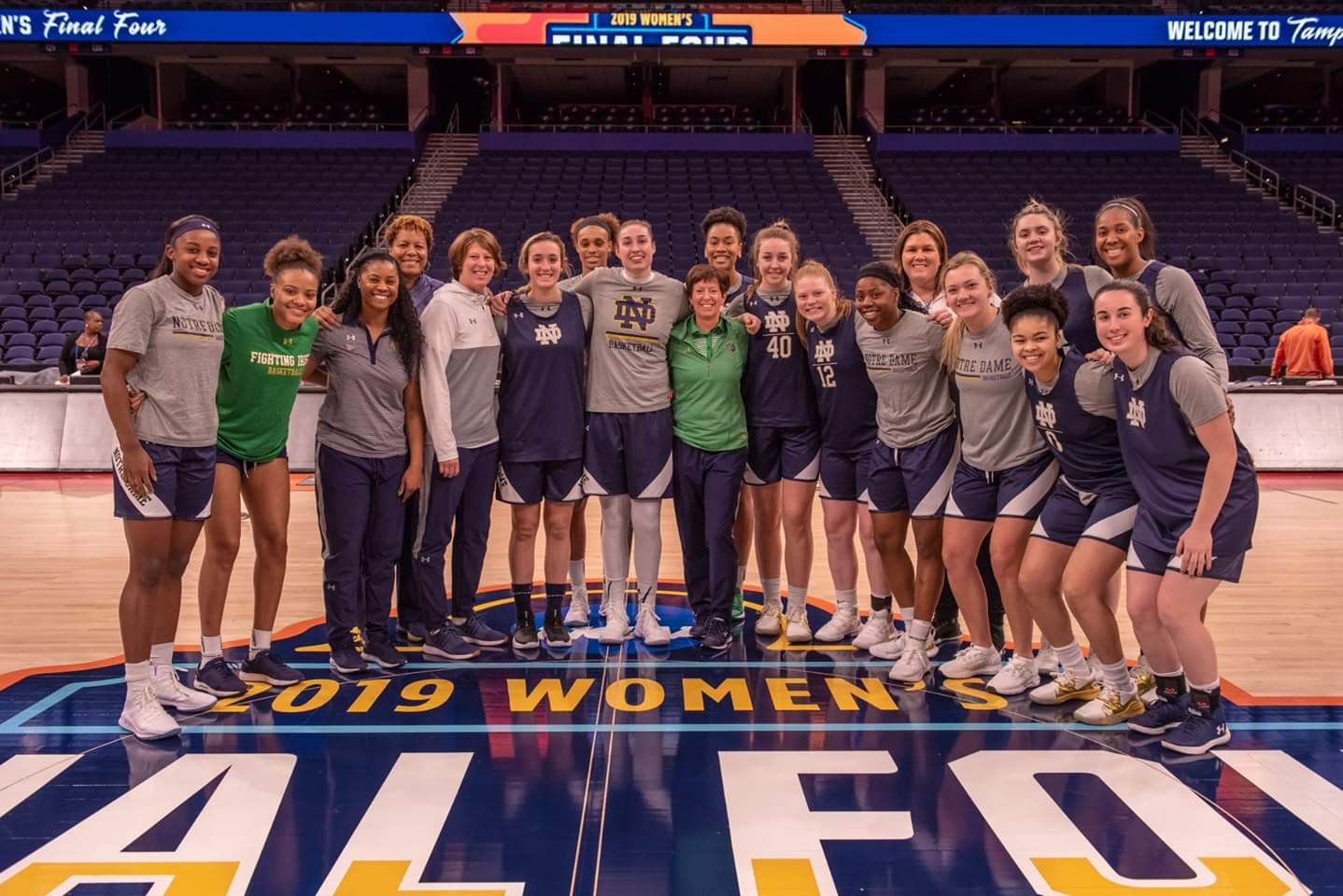 ND Women's Basketball: The Irish Out Muscle The  Huskies!