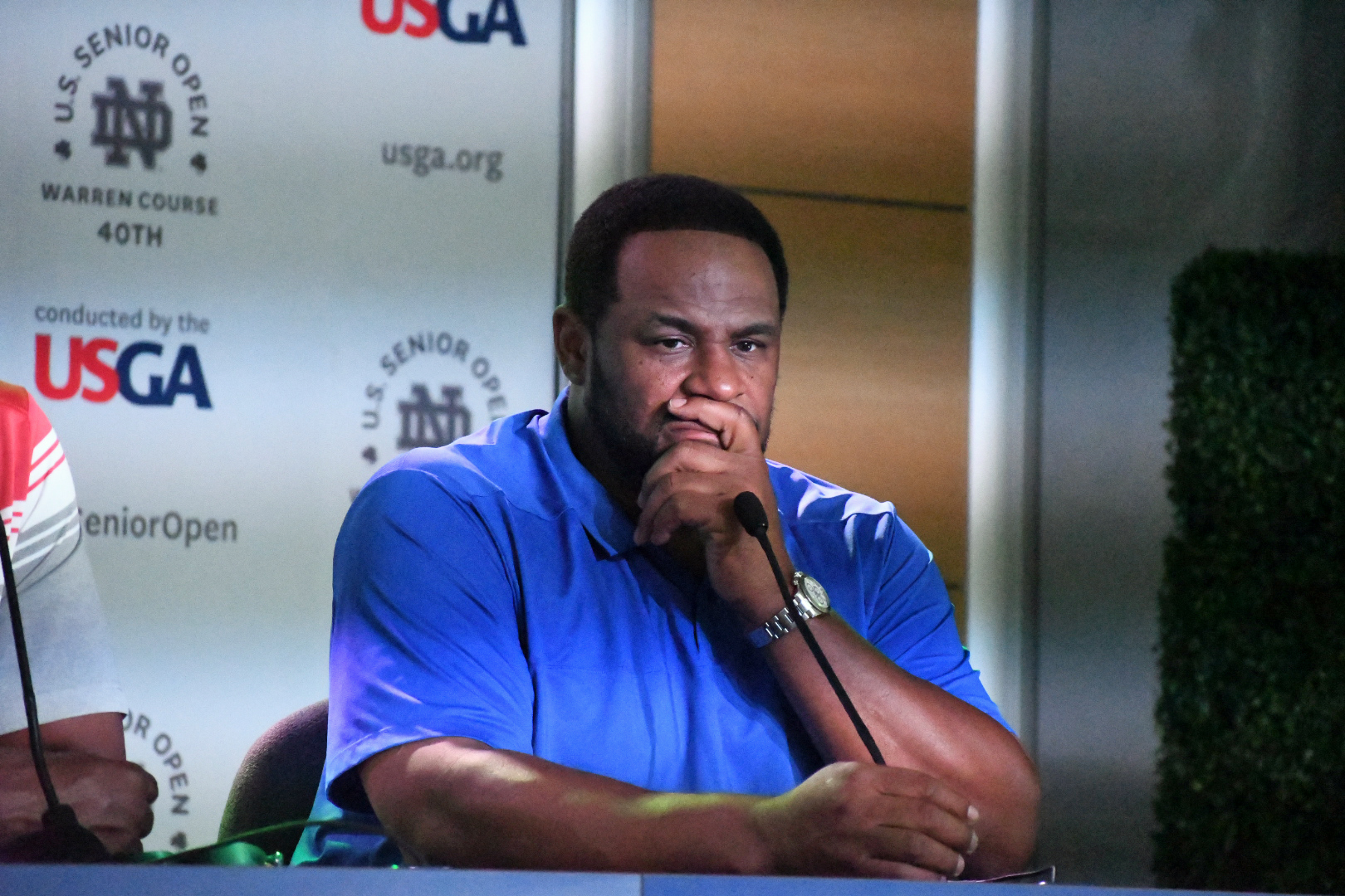 "USGA: Tim Brown and ""The Bus"" Talk Golf At U.S. Senior Open Championship"