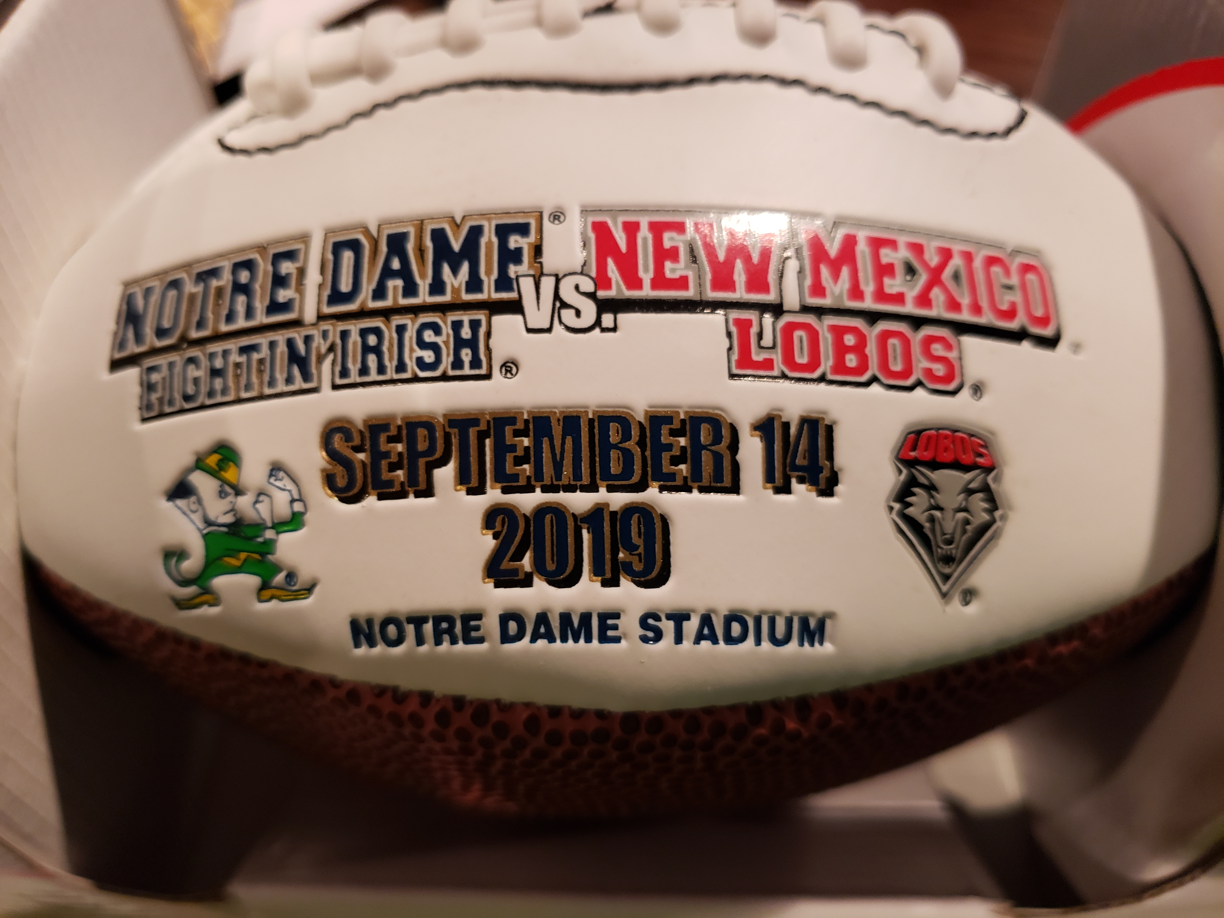 ND Football: Game 2/Week 3 New Mexico Lobos vs Notre Dame