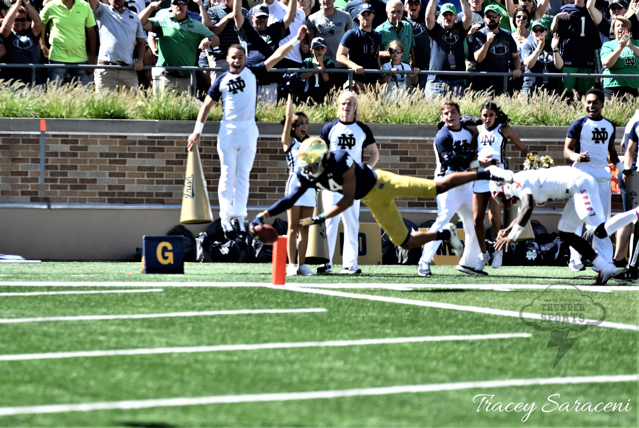 ND Football: Hamilton Not Afraid To Take His Shot