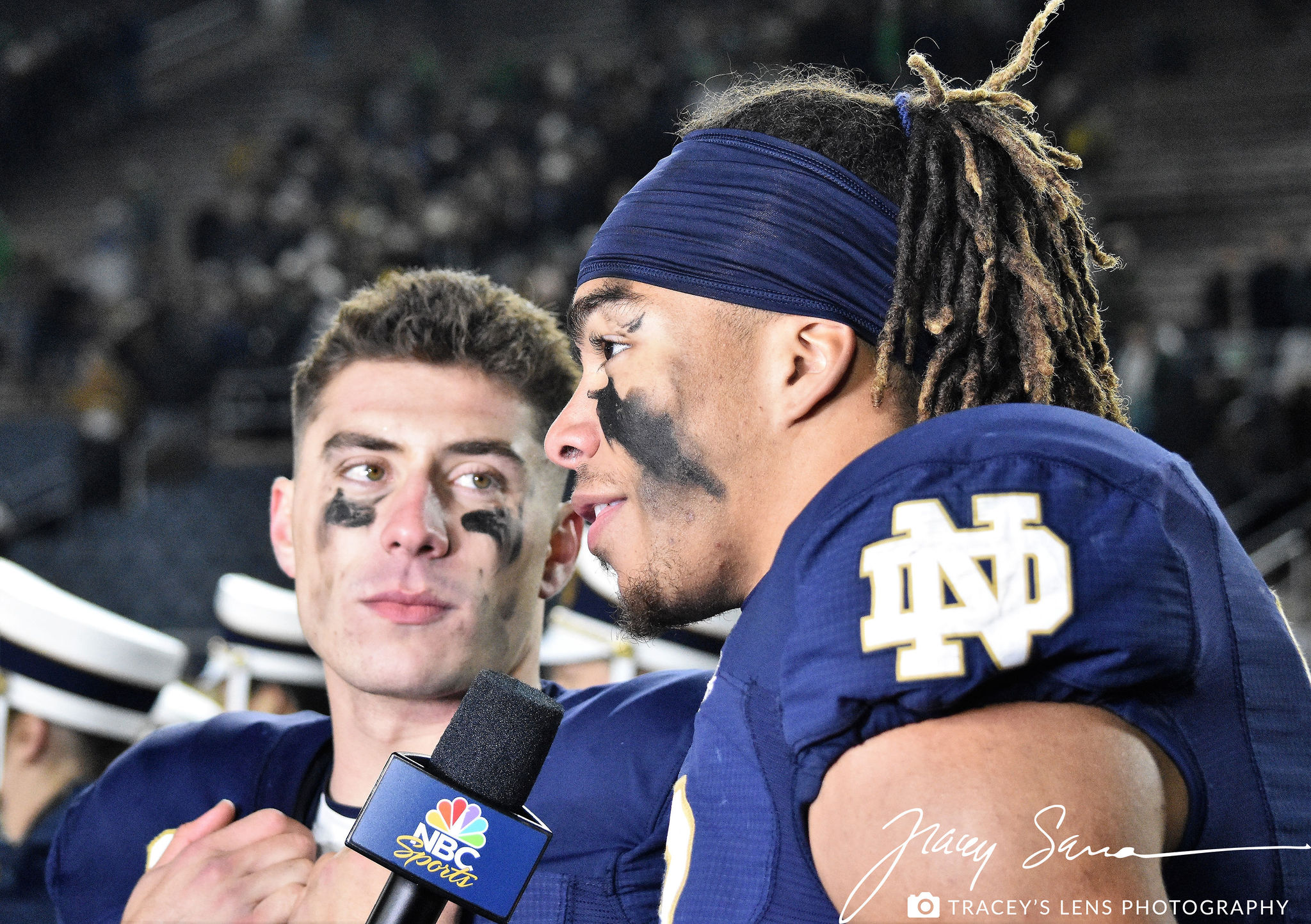 ND Football: Photo Recap OF Navy vs Notre Dame
