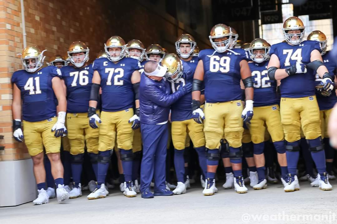 ND Football: Brian Kelly 100th Win!!