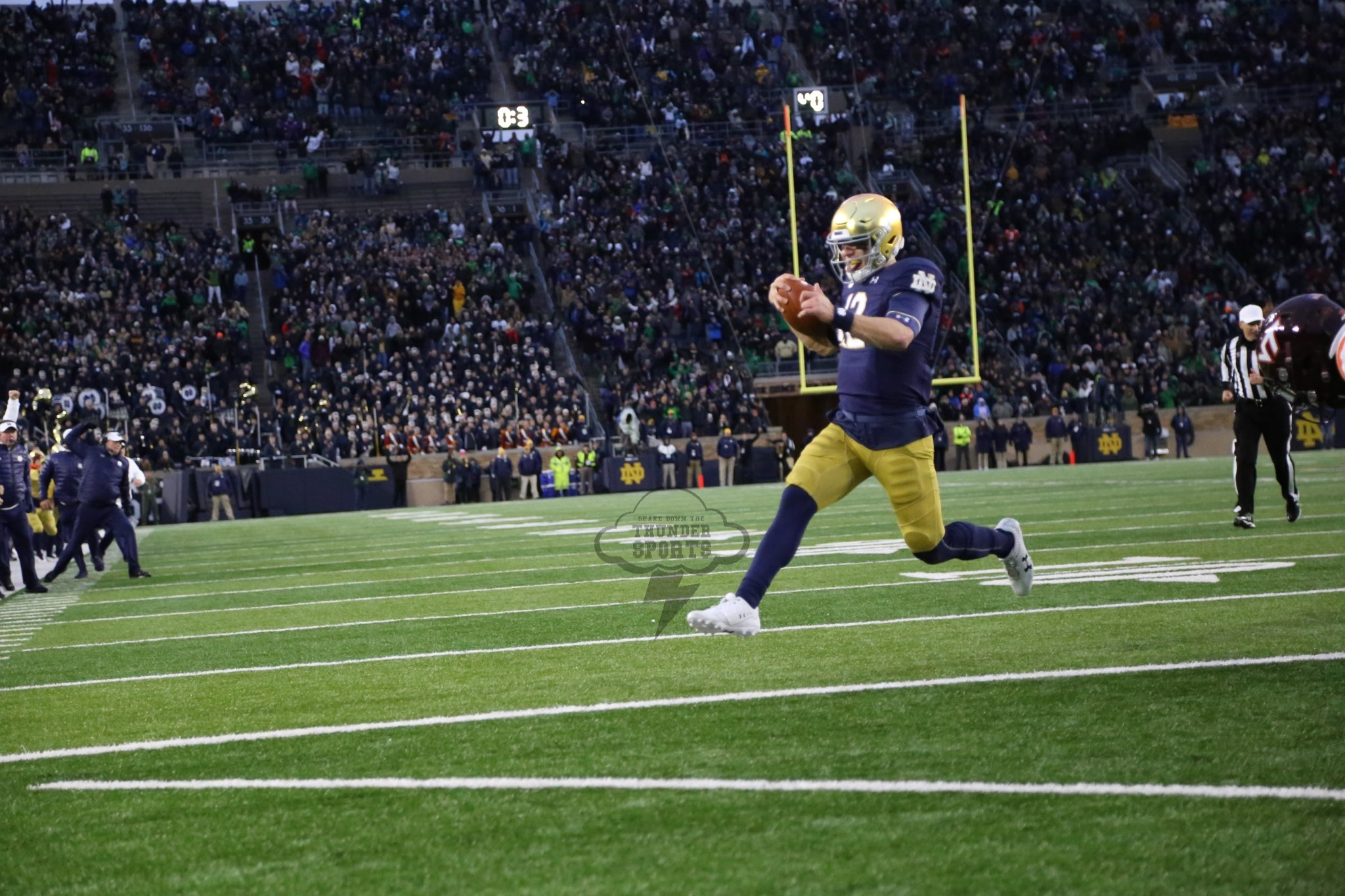 """ND Football: Book Takes A Late Dip In The """"Claypool"""""""
