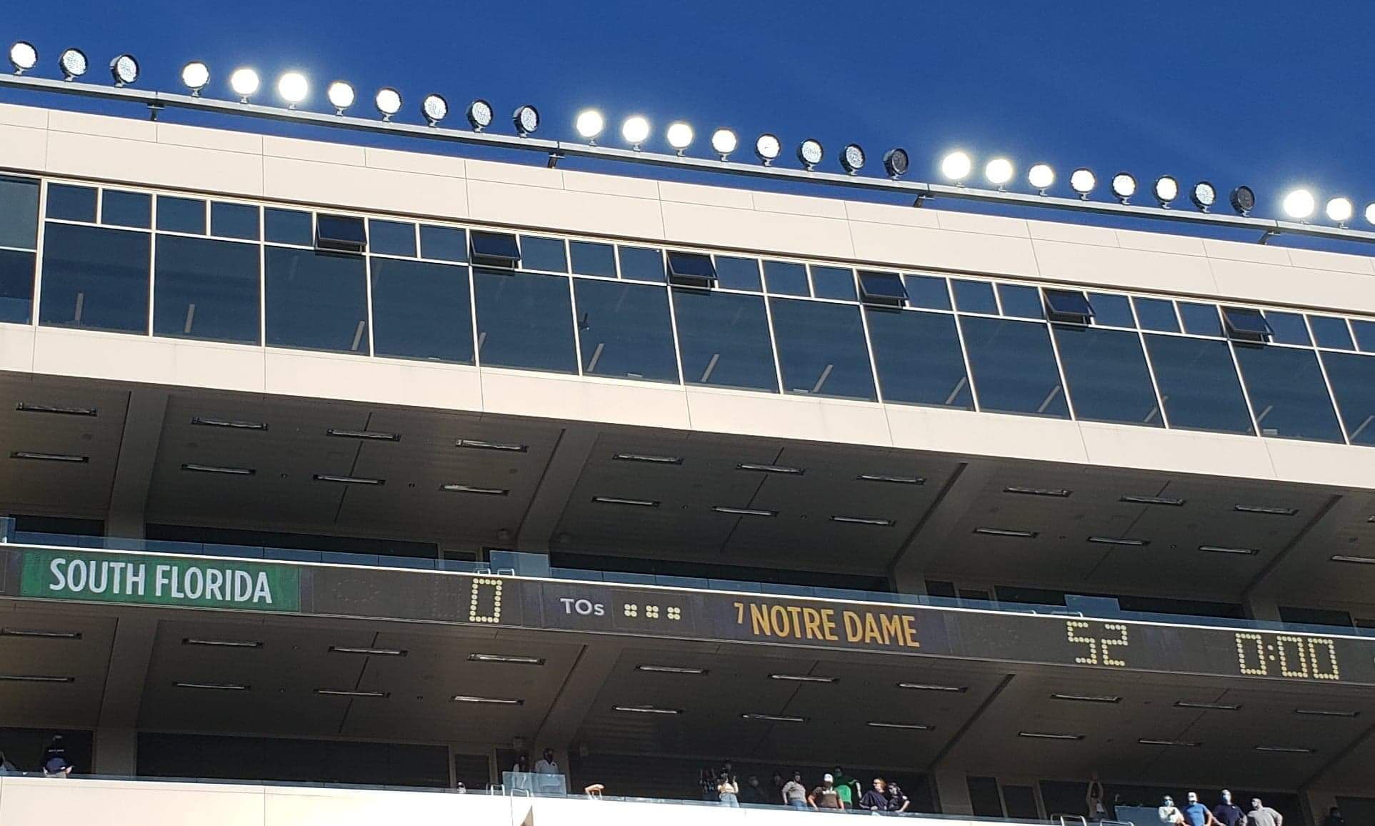 ND Football: The Irish Play Matador And Dominate The Bulls