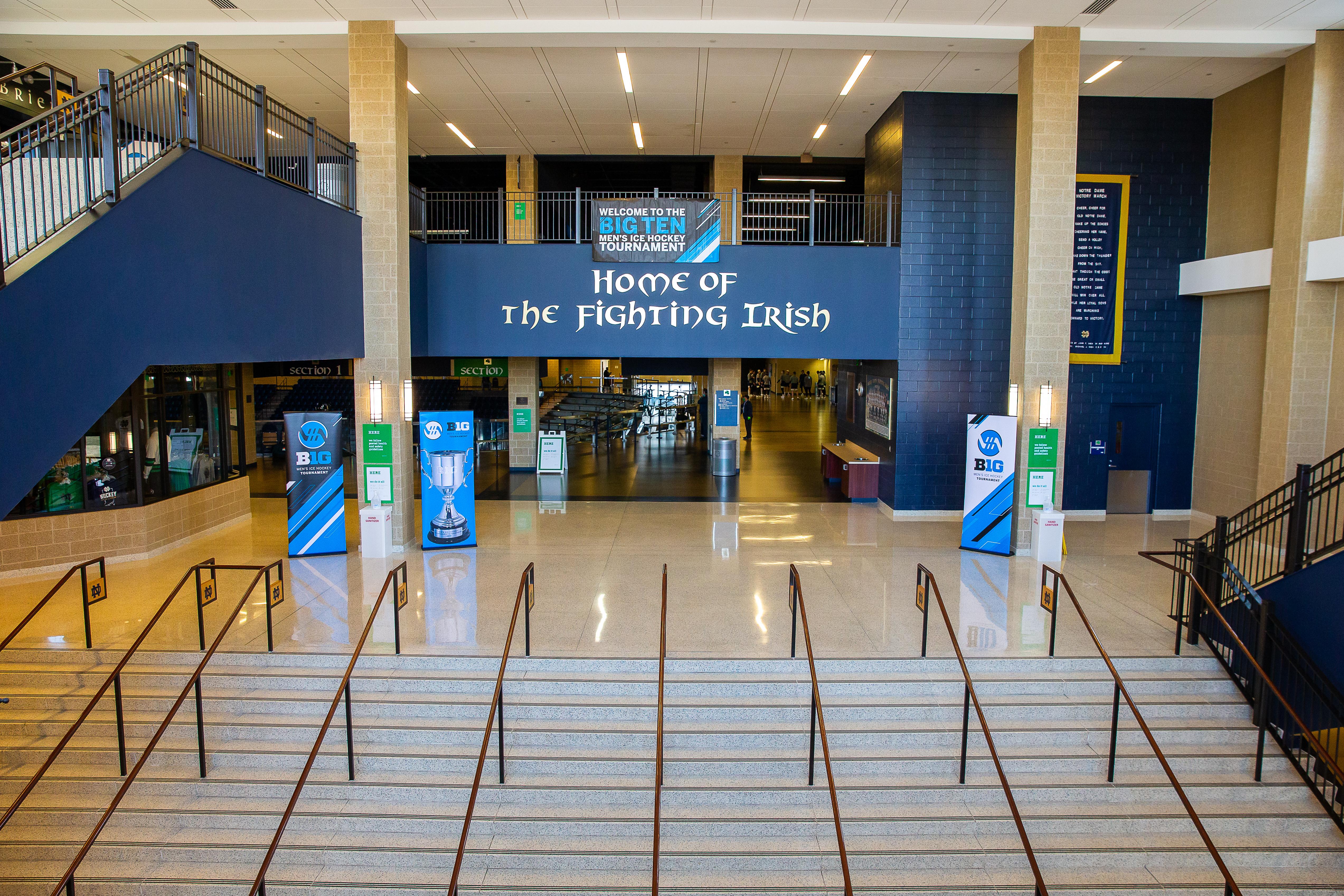 ND Hockey: The Nittany Lions Roar Past The Irish
