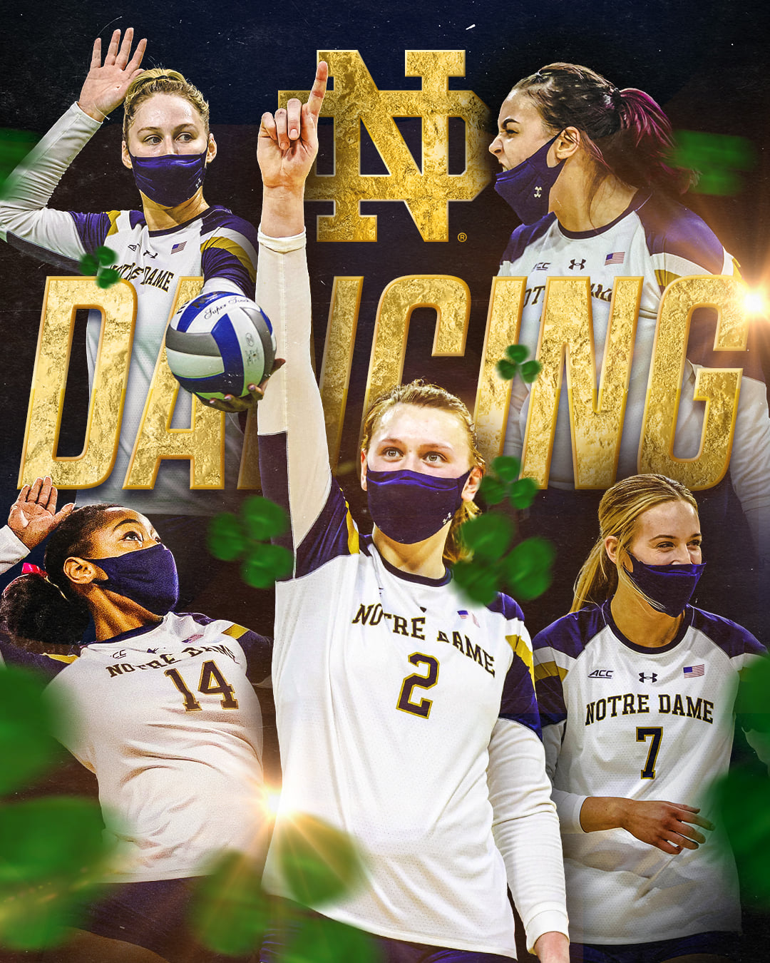 ND Women's Volleyball: Going Dancing In Omaha