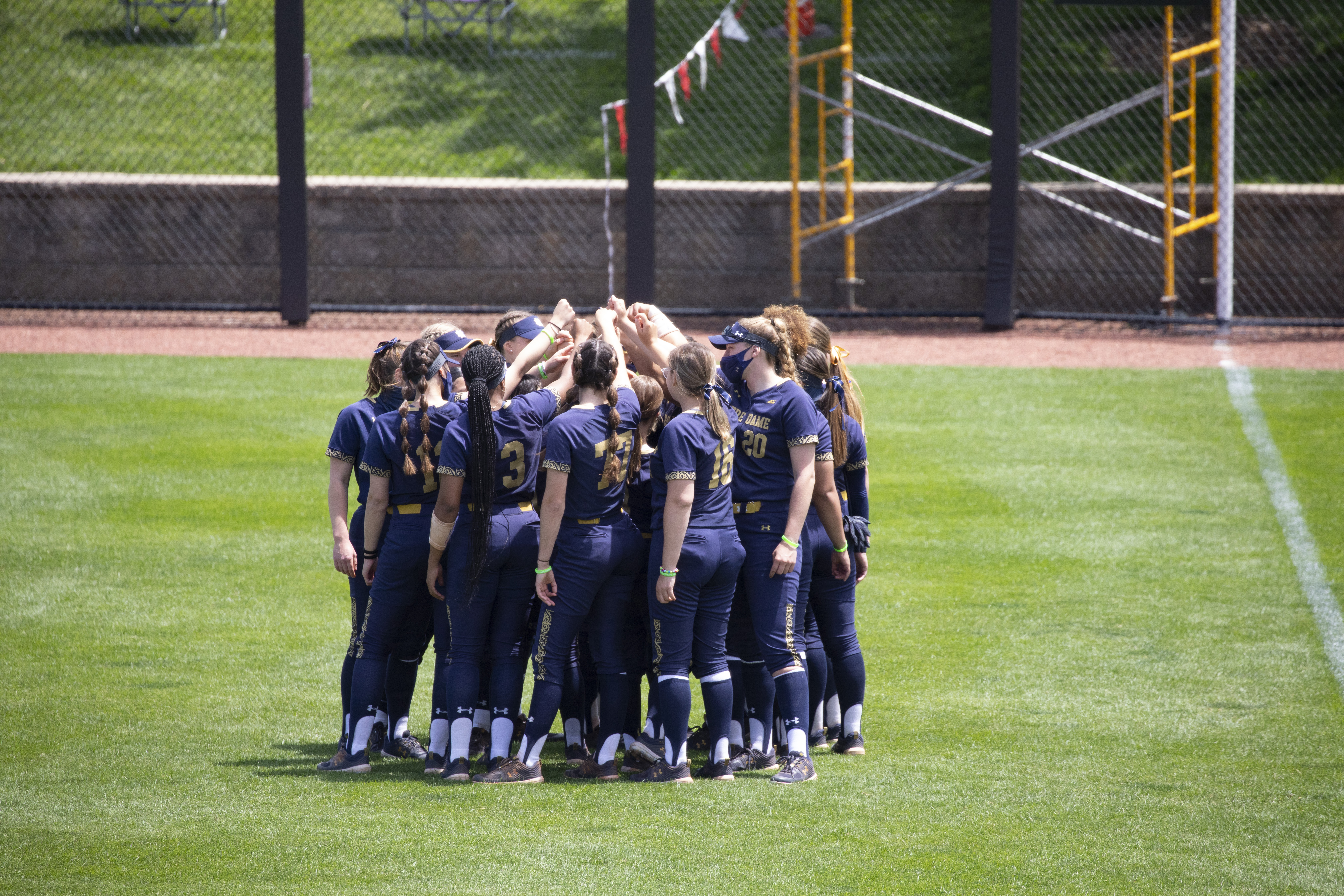 ND Softball: Early Surge By VT Takes Down The Fightin' Irish